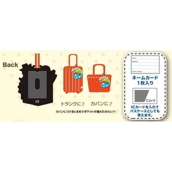 ピクサーコレクション ラゲッジタグ ポケット ■ Disney ネームタグ ネームホルダー パスケース ICカードケース アメリカン雑貨 メール便可|t-bravo|05