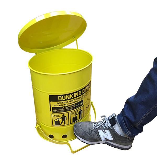 ゴミ箱ダンキングビン (23L) ■ ふた付き ごみ箱 23リットル ダストビン トラッシュカン アメリカン雑貨|t-bravo|04