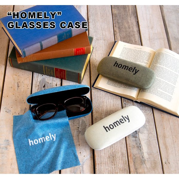ホームリー グラスケース [1C-364] ■ メガネケース おしゃれ スリム かわいい ハード 眼鏡ケース コンパクト メガネ 収納