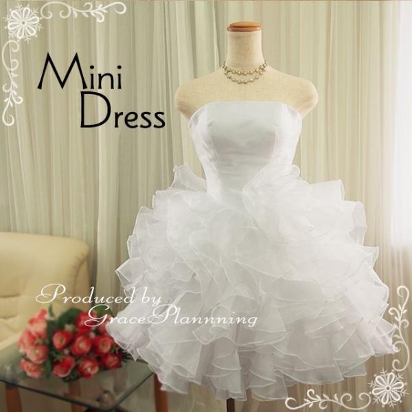 ウェディングドレス ウエディングドレス ミニ 人気 結婚式 花嫁 二次会