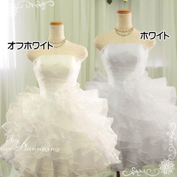 ウェディングドレス ウエディングドレス 白 結婚式 二次会ドレス ミニ 2次会 人気  安い 格安 オフホワイト 結婚式 海外ウエディング パーティ 54317/2123|t-bright
