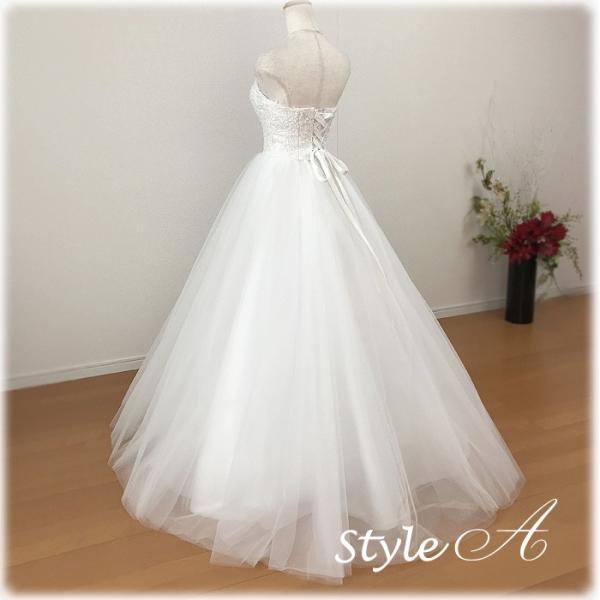 ウェディングドレス エンパイア ドレス 人気のエンパイアライン 二次会 花嫁ドレス 海外挙式 妊婦さんにオススメ Wedding 8865wd|t-bright|04