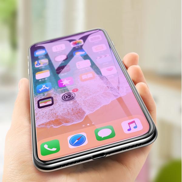 ガラスフィルム ブルーライトカット iPhone 11 Pro XR Xs MAX 全面 フィルム ガラス アイフォン 強化ガラス|t-gshop|06