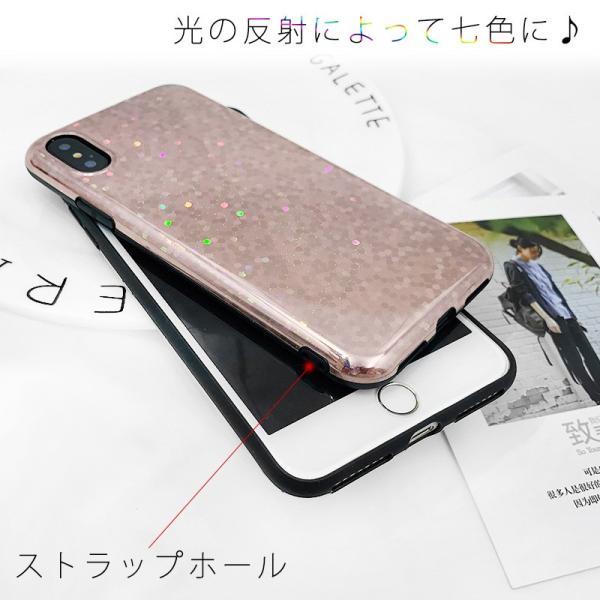 iPhone XR ケース iPhone Xs iPhone8 ケース アイフォン8 iPhone7 iPhoneケース おしゃれ キラキラ グリッター スマホケース|t-gshop|04