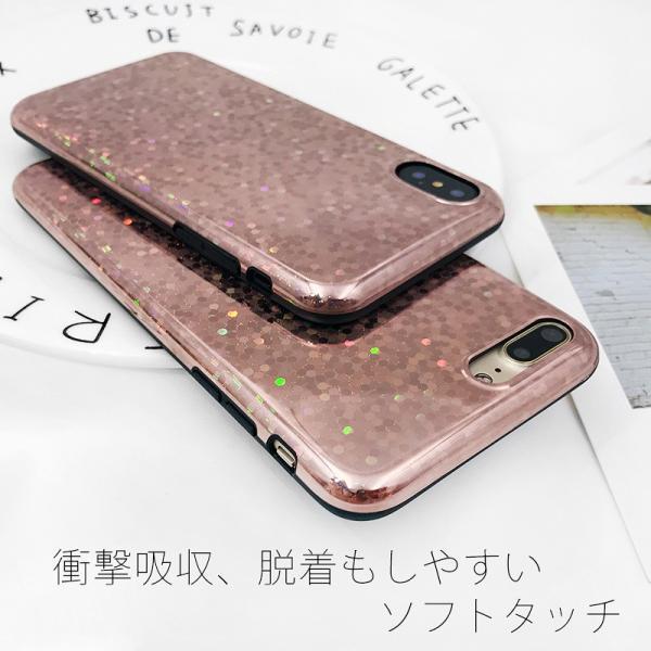 iPhone XR ケース iPhone Xs iPhone8 ケース アイフォン8 iPhone7 iPhoneケース おしゃれ キラキラ グリッター スマホケース|t-gshop|07