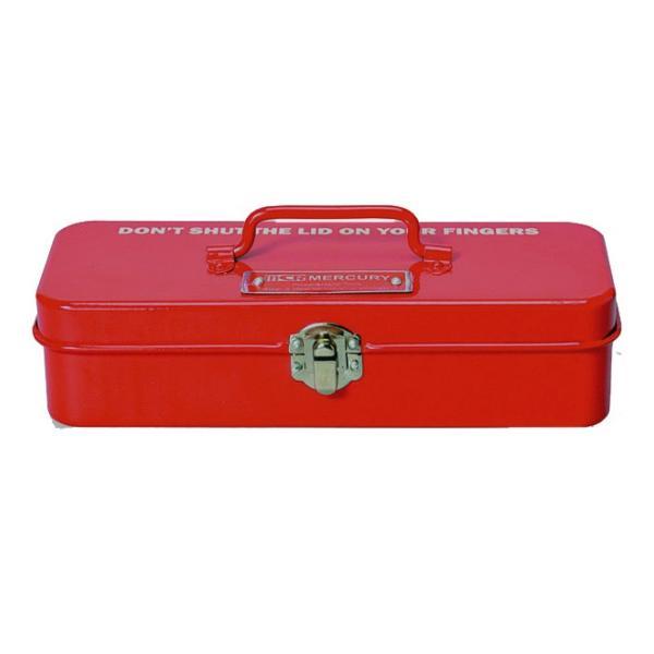 マーキュリー ブリキミニツールボックス レッド MERCURY  MINI TOOLBOX RED|t-home
