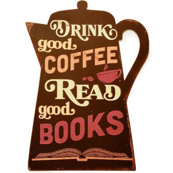 キーストーン ダイカット ビッグサインボード コーヒーポット  KEYSTONE DIECUT BIG SIGNBOARD COFFEE POT|t-home