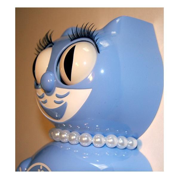 キットキャットクロック リミテッドエディション セレニティブルーレディ  Kit Cat Clock Limited Edition Serenity Blue Lady|t-home|03