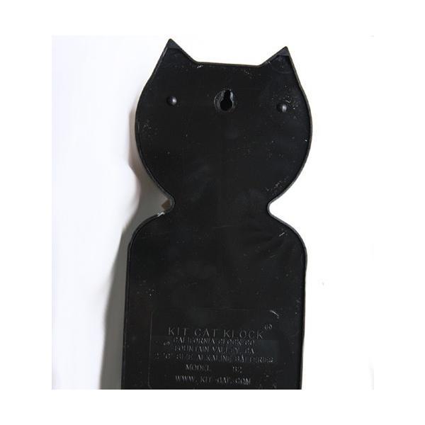キットキャットクロック リミテッドエディション ブラック プラズマスティックボウタイ Kit Cat Clock  Limited Edition Black Plasma tick bowtie|t-home|04