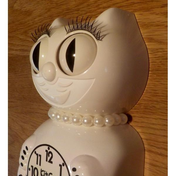 キットキャットクロック リミテッドエディション ホワイトレディ  Kit Cat Clock  Limited EditionWhite Lady|t-home|02