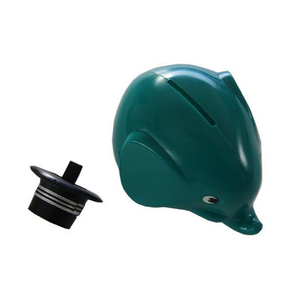 MK TRESMER ノルス エレファントバンク 2018年限定色エメラルド フィンランド製の象の貯金箱|t-home|03