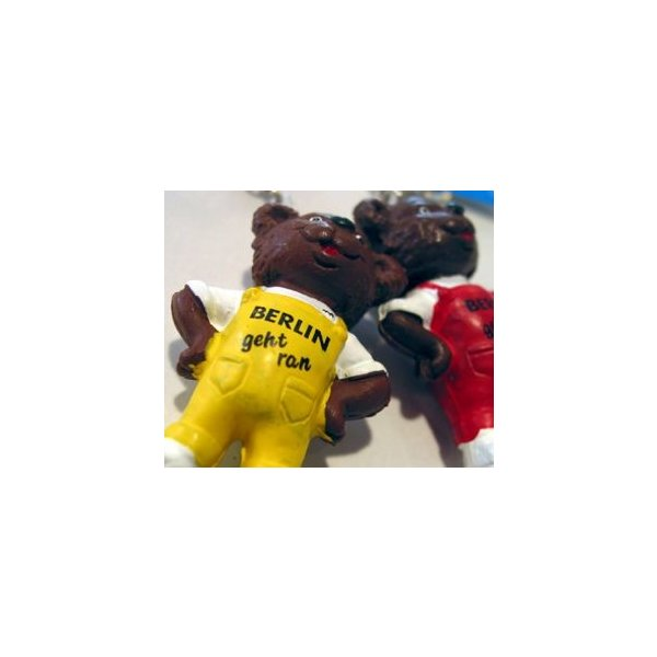 ALFI マラソンベアキーリング ドイツ製のフィギュアキーリング イエロー|t-home|04