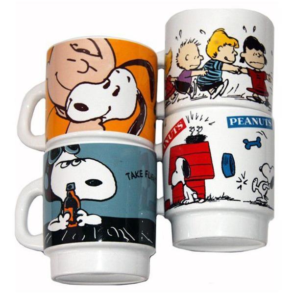 ピーナッツ スタッキングマグ PEANUTS Stacking Mug|t-home