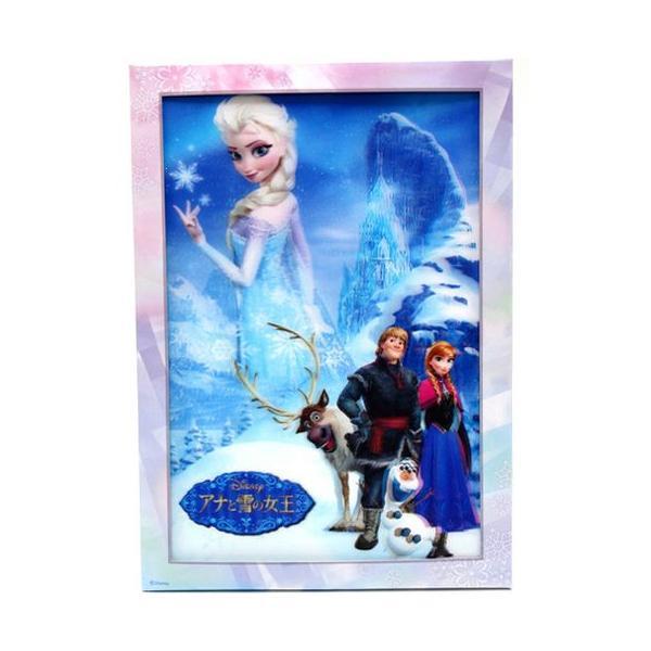『FROZEN アナと雪の女王 』3Dアートコレクション ポスター サイズ35×26cm|t-home