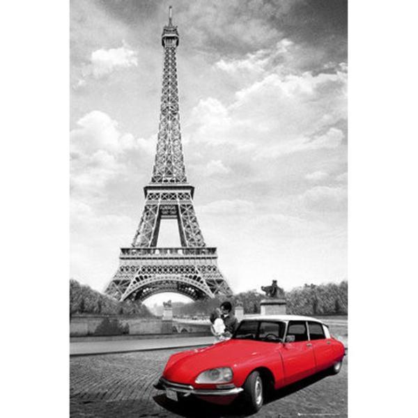 『パリのキス Paris Kiss  』  のポスター サイズ91.5×61cm|t-home