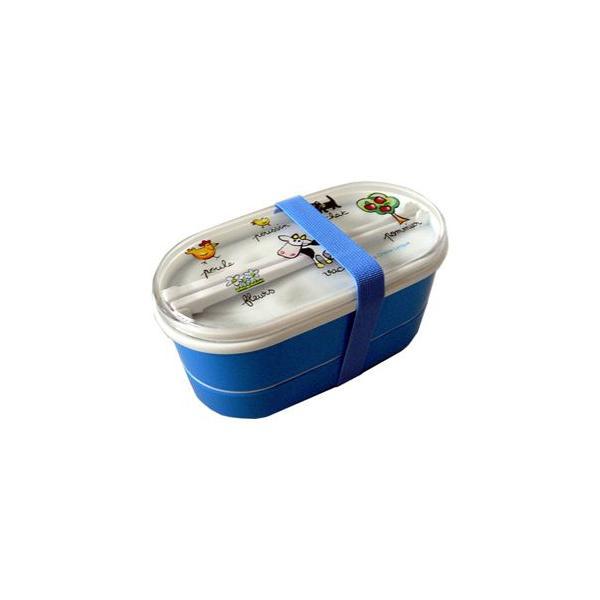 【アウトレット】 ラシェーズロング ランチボックス ダブル  La Chaise Longue Lunch Box|t-home