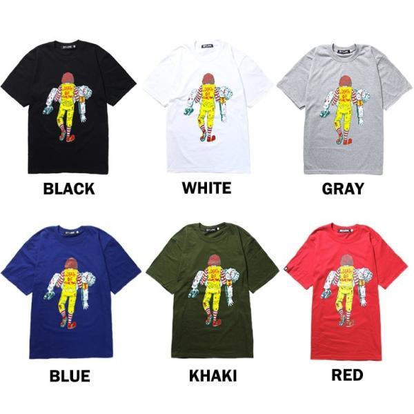 おもしろtシャツ パロディtシャツ メンズ 面白いTシャツ 笑えるTシャツ  DEATH OF JUNK FOOD S,M,Lサイズ 黒色 グレー 白色 青色|t-link|03