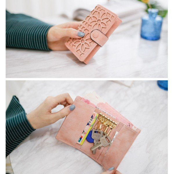 キーケース レディース おしゃれ 多機能 メンズ カードケース ブランド カード かわいい コンパクト 使いやすい ボタン お洒落 スマートキー キーリング|t-martshop|10