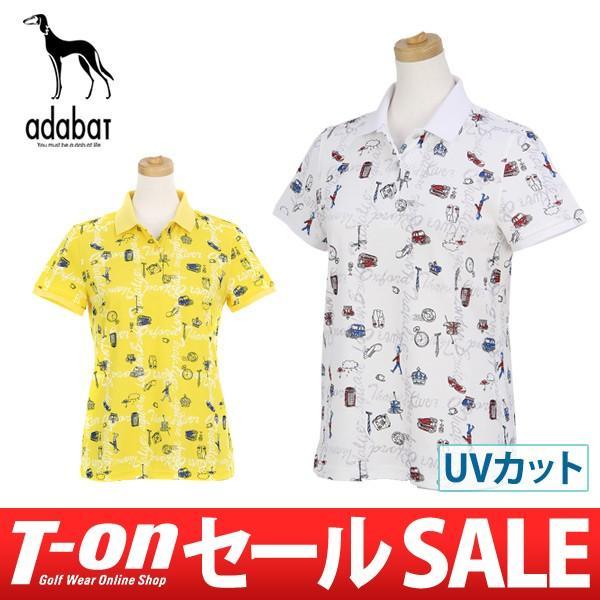 【40%OFFセール】 アダバット adabat ポロシャツ ゴルフウェア レディース|t-on