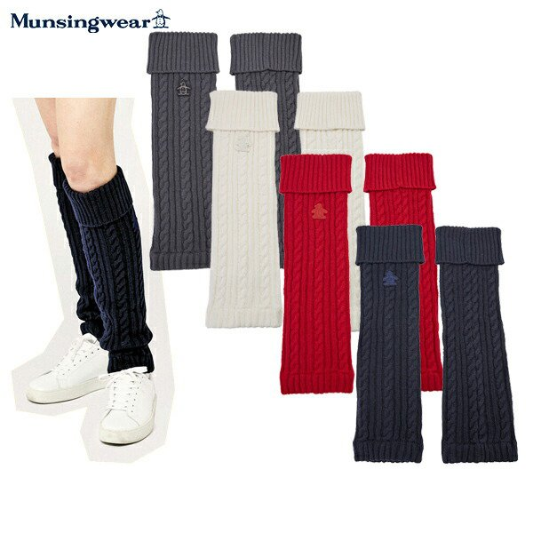 レッグウォーマー レディース マンシングウェア Munsingwear  ゴルフ mgcqjx81
