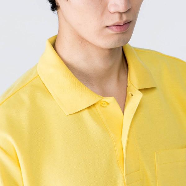 ポロシャツ メンズ 長袖  無地 Printstar(プリントスター) 5.8オンス T/C 長袖 ポロシャツ (ポケ付) 169vlp|t-shirtst|03