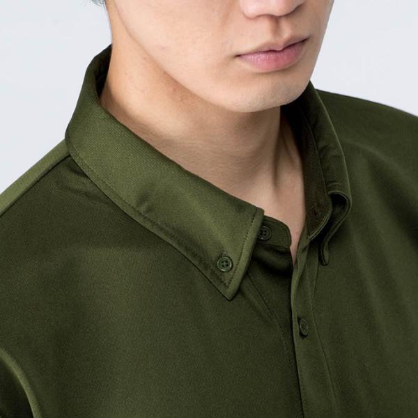 ポロシャツ メンズ ドライ クールビズ 半袖 無地 4.4オンス ドライボタンダウンポロシャツ(ポケット無し)ビズポロ 吸汗 速乾 Glimmer(グリマー) 313abn|t-shirtst|03