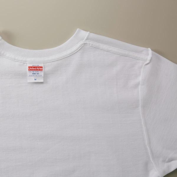 Tシャツ メンズ 半袖 無地 黄 赤 など United Athle(ユナイテッドアスレ) 5.6オンス ハイクオリティーTシャツ 5001|t-shirtst|06