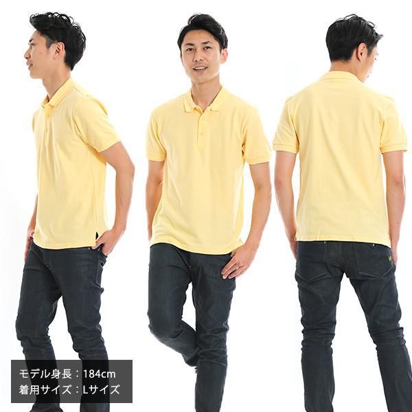 ポロシャツ メンズ 半袖 無地 GILDAN(ギルダン) 6.3オンス アダルト ダブルピケ ポロシャツ 83800|t-shirtst|04