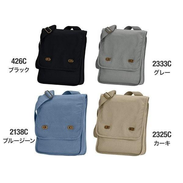 バッグ 無地 14オンス キャンバス フィールドバッグ 顔料染め 斜めがけバッグ Comfort Colors(コンフォートカラーズ) cfc343|t-shirtst|02