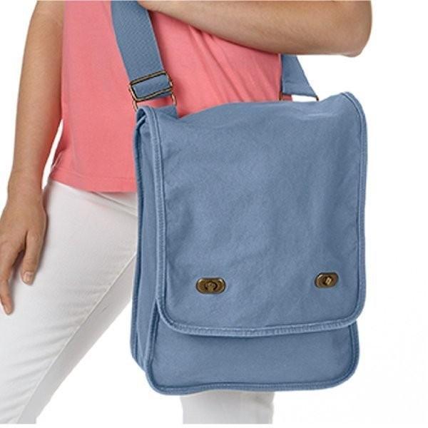 バッグ 無地 14オンス キャンバス フィールドバッグ 顔料染め 斜めがけバッグ Comfort Colors(コンフォートカラーズ) cfc343|t-shirtst|07
