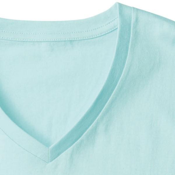 メンズ Vネック 無地Tシャツ 肌着 インナー スリム タイト DALUC(ダルク)DM502|t-shirtst|04