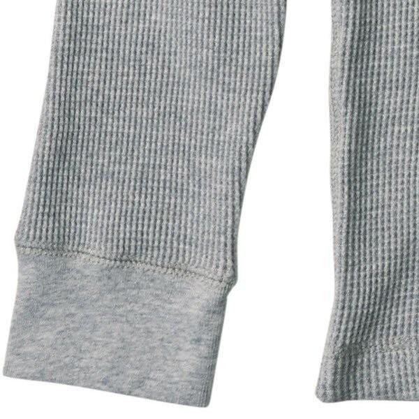 長袖Tシャツ メンズ ロンT ロンティー 無地 DALUC(ダルク) 9.1oz Heavy Waffle Lomg Sleeve dm511|t-shirtst|05