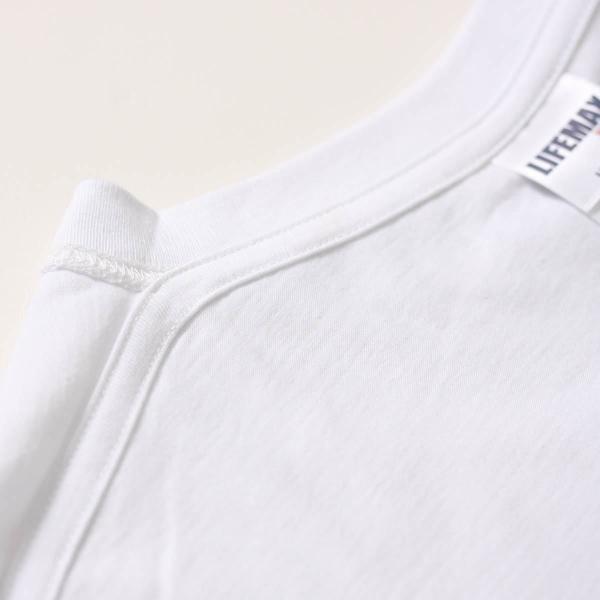 Tシャツ メンズ キッズ 半袖 無地 6.2オンス ヘビーウェイトTシャツ(ホワイト) ネイビー グレー 黒 など LIFEMAX(ライフマックス) ms1149|t-shirtst|07