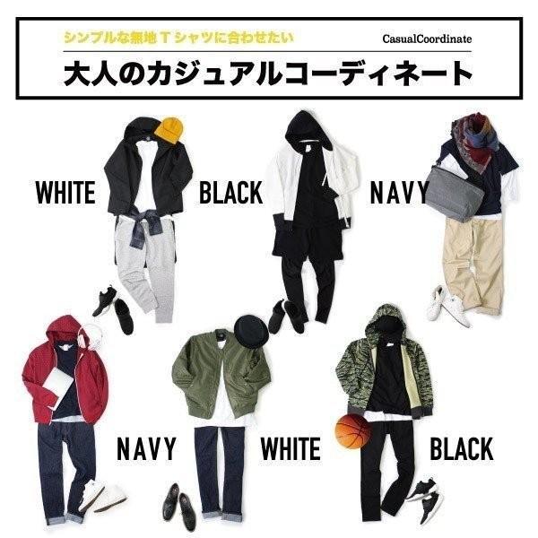 Tシャツ メンズ 半袖 無地 白 黒 ネイビー NUMBER TEE(ナンバーティー) nt24|t-shirtst|06
