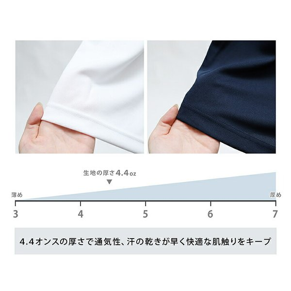 Tシャツ メンズ ドライ 速乾 無地 半袖 レディース グリマー(glimmer) 300-ACT 4.4オンス|t-shrtjp|09