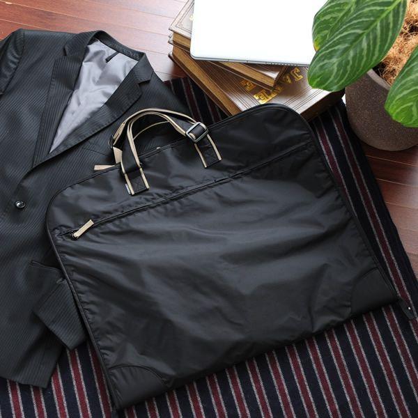 ガーメントバッグ メンズ  スーツ入れ ガーメントケース  三つ折り A3 ナイロン 出張