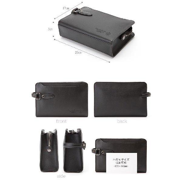 青木鞄 本革セカンドバッグ メンズ レザー 日本製 慧可 COMPLEX GARDENS t-style 03
