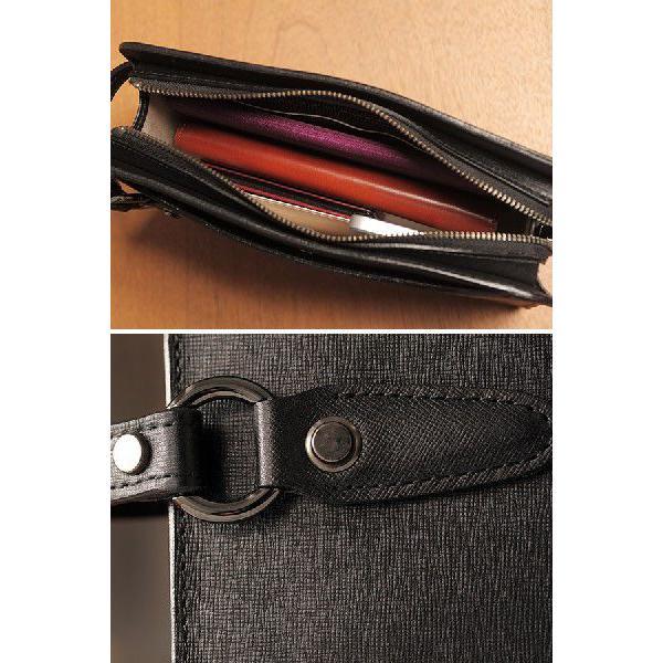 青木鞄 本革セカンドバッグ メンズ レザー 日本製 慧可 COMPLEX GARDENS t-style 05