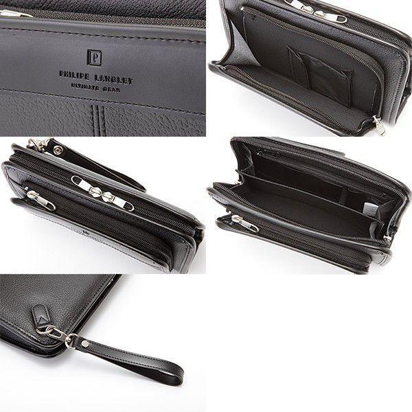 セカンドバッグ メンズ 日本製 A6 豊岡鞄 PHILIPE LANGLET|t-style|04