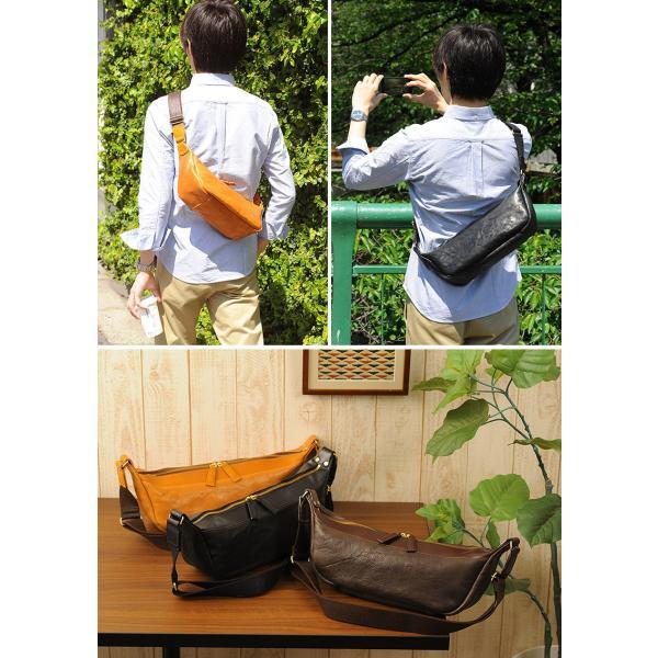 豊岡鞄 ボディバッグ メンズ 本革 40代 レザー 日本製|t-style|05
