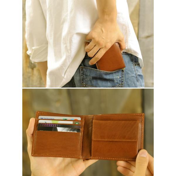 EDWIN エドウィン 二つ折り財布 メンズ 本革 小銭入れあり|t-style|05