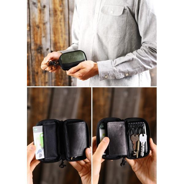 豊岡鞄 ファスナーキーケース メンズ 本革 日本製 Mastiha|t-style|05