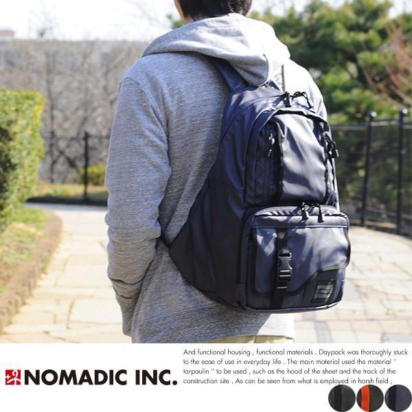 NOMADIC ノーマディック デイパック メンズ ターポリン A4 防水 リュック TP-31|t-style