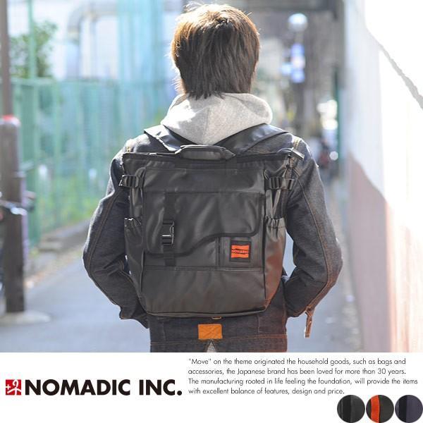 NOMADIC ノーマディック 3wayトートバッグ メンズ ターポリン A4 防水 リュック TP-34 t-style