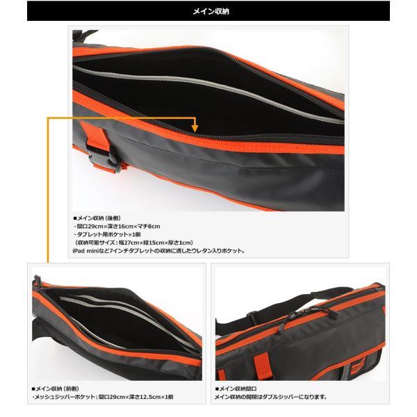 NOMADIC ノーマディック ボディバッグ メンズ ターポリン A5 防水 TP-35|t-style|06