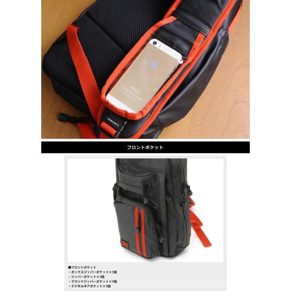NOMADIC ノーマディック ワンショルダーバッグ メンズ ターポリン A4 防水 TN-01|t-style|06