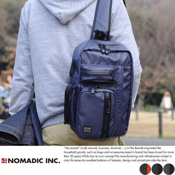 NOMADIC ノーマディック 大型ワンショルダーバッグ メンズ ターポリン A4 防水 TN-03|t-style
