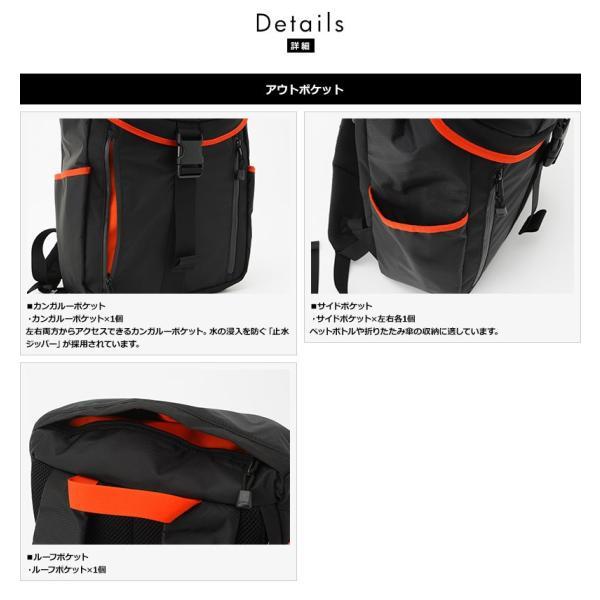 NOMADIC ノーマディック 軽量バックパック メンズ デイパック SE-01|t-style|04