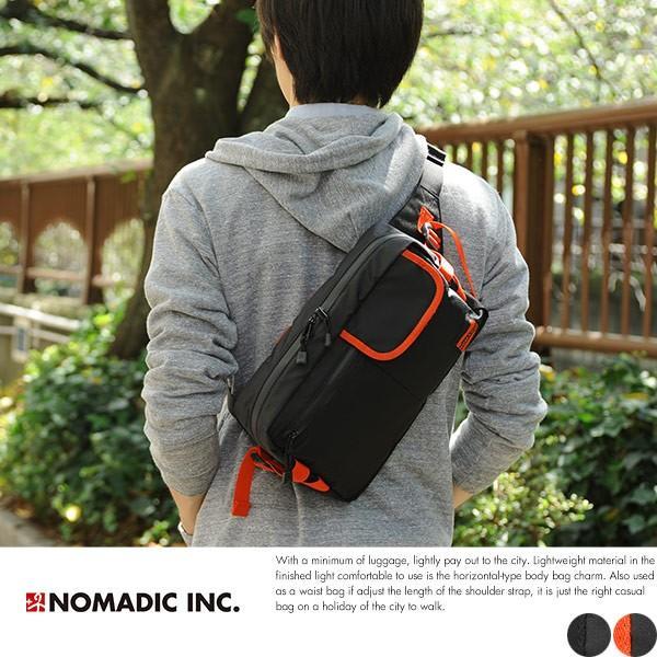 NOMADIC ノーマディック ヨコ型ボディバッグ メンズ iPad 軽量 SE-02|t-style