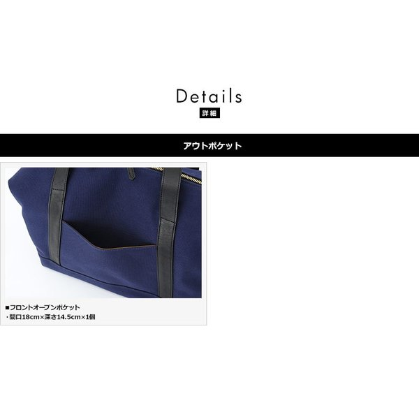 UNDER CANVAS ボストンバッグ 2号帆布×栃木レザー メンズ 日本製|t-style|04